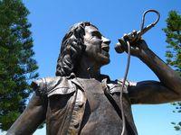 Statue of AC/DC's Bon Scott, Fremantle, Western Australia